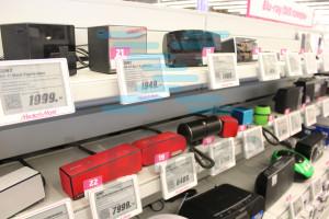 Магазины Media Markt в Санкт-Петербурге заменили бумажные ценники на электронные!