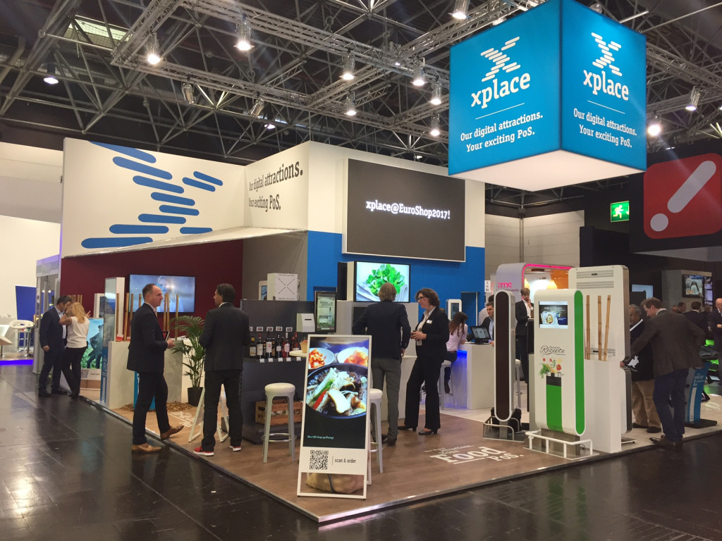 Компания xplace приняла участие в выставке в EuroShop 2017 в Дюссельдорфе